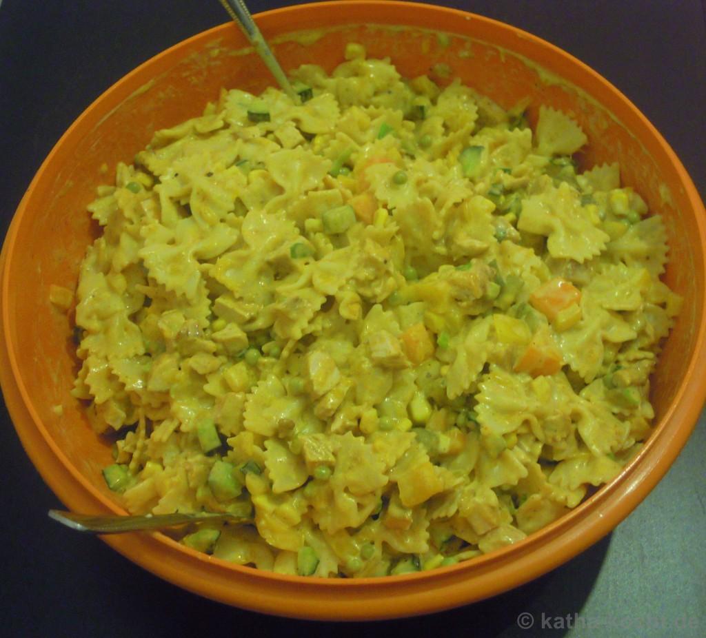 CurryputenNudelsalat