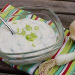 Knoblauch-Joghurt Dip