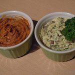 Kräuter- und Tomatenbutter