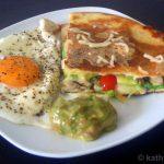 Quesadillas zum Frühstück