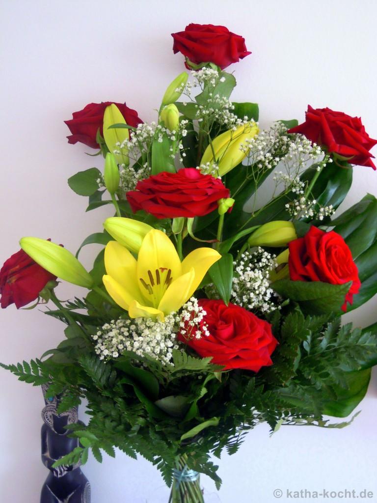 Valentinstagsblumen