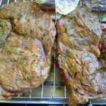 Steak in Kräutermarinade vom Grill