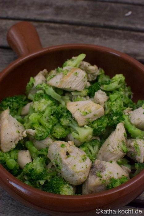 Tapas - Huhn mit Brokkoli
