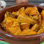 Tapas – gebackene Süßkartoffelecken