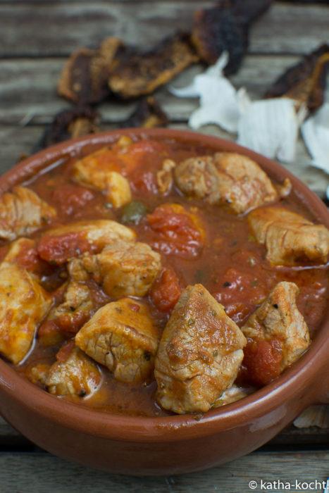 Tapas - Schweinefilet mit getrockneten Tomaten