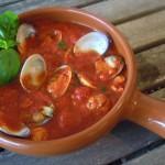 Tapas – Venusmuscheln in Tomatensauce
