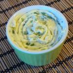 Frühlingszwiebel-Butter