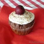 Schwarzwälder-Kirsch Muffin