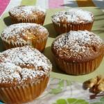 Birne-Walnuss Muffins