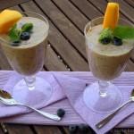 Mango-Heidelbeer-Quark