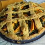 Herzhafter Kürbis-Zucchini Kuchen