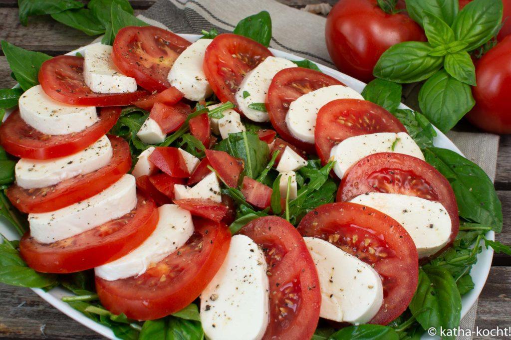 Tomate-Mozzarella wie in San Gimignano - Caprese Salat mal anders