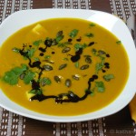 Mango-Curry Kürbissuppe