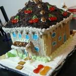Weihnachtsgebäck – Lebkuchen-Stadtvilla