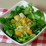 Matjessalat mit Curry und Mandarinen
