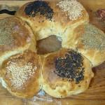 Party-Brotkranz mit hübschen Brötchen