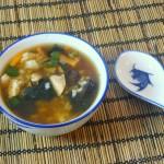 Japanische Fischsuppe