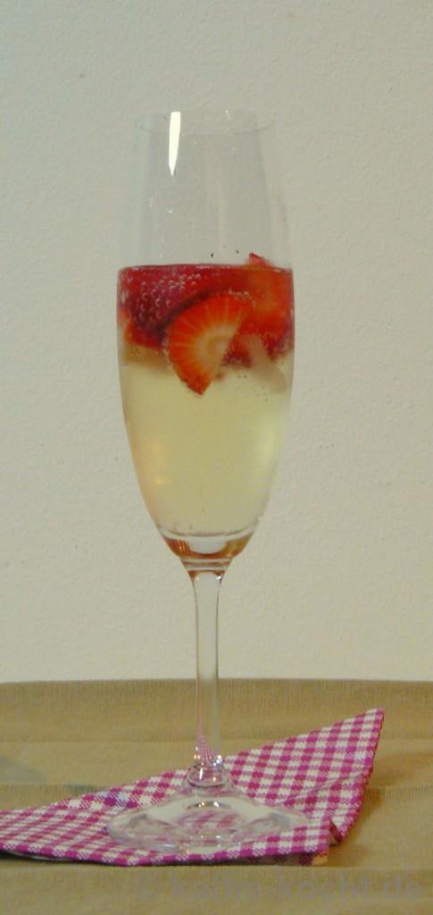 Erdbeersekt