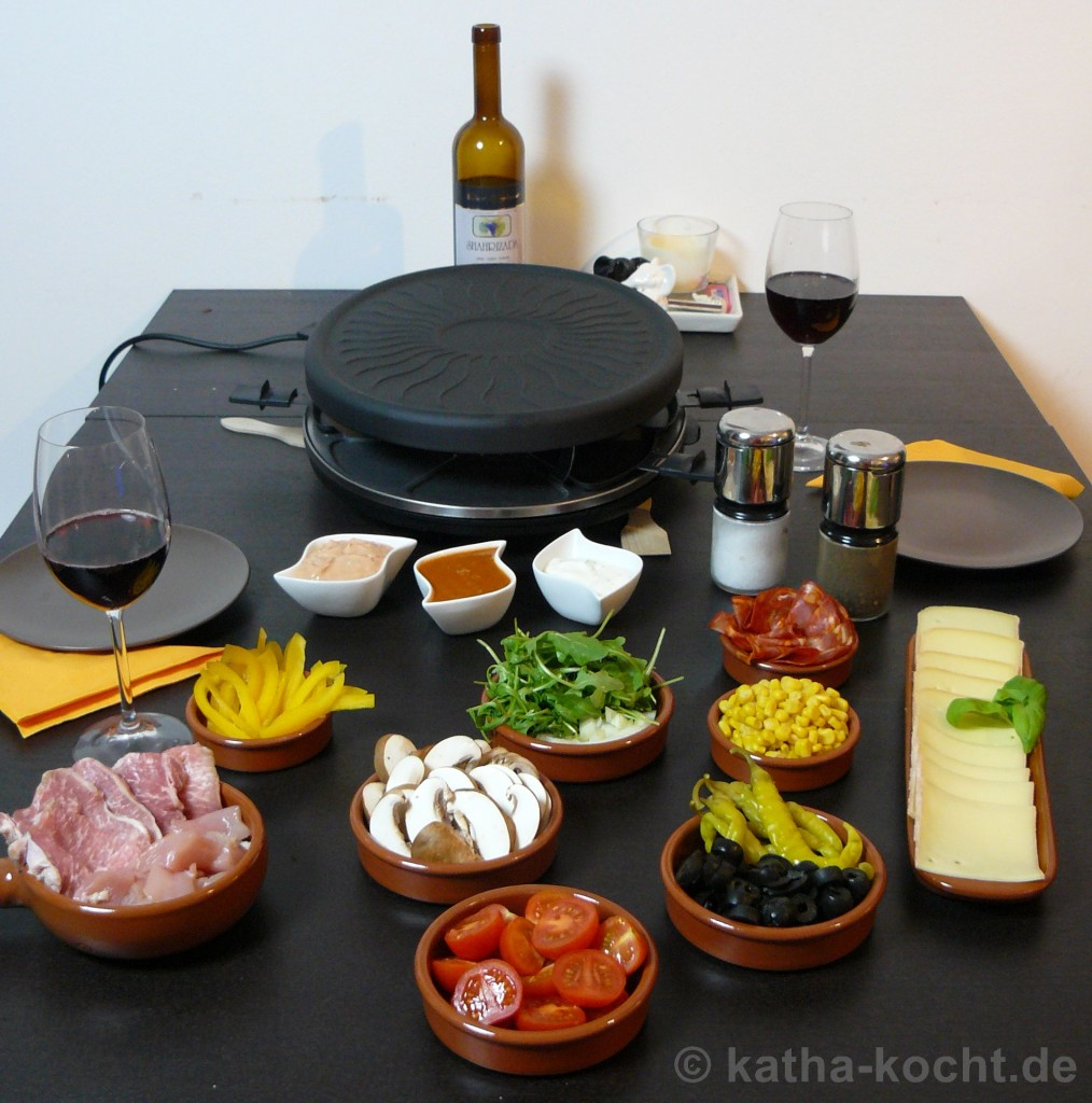 spanisches raclette katha kocht. Black Bedroom Furniture Sets. Home Design Ideas