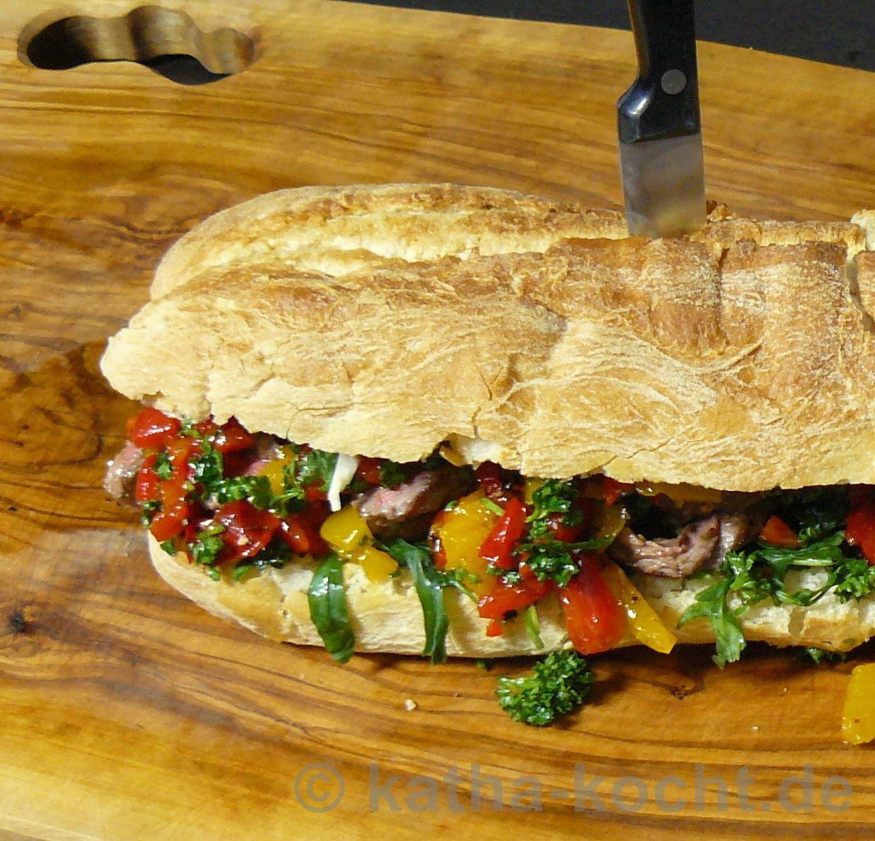 Jamie Oliver Steak Sandwich