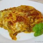 Kürbis-Bolognese-Lasagne