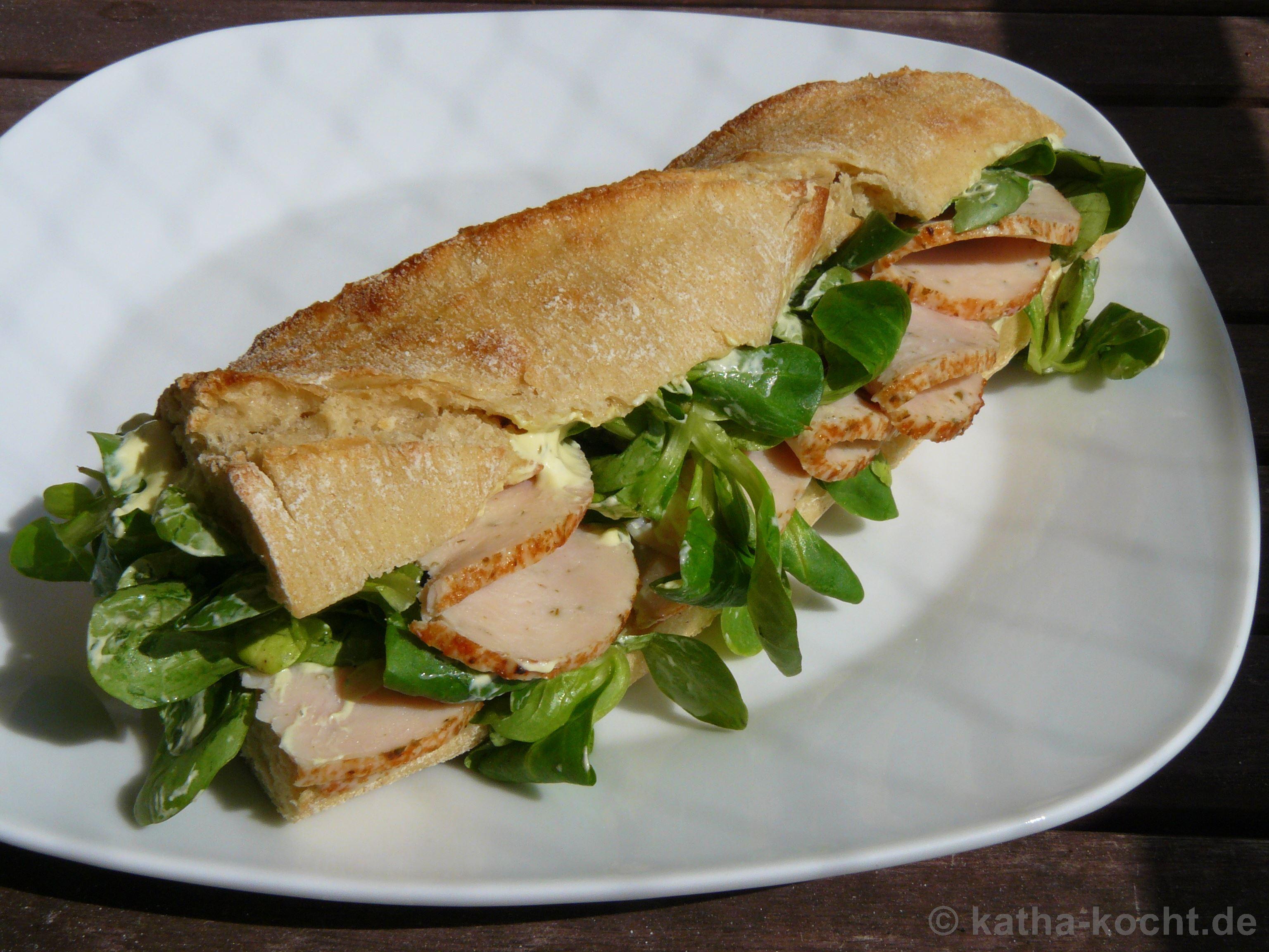 puten sandwich rezept