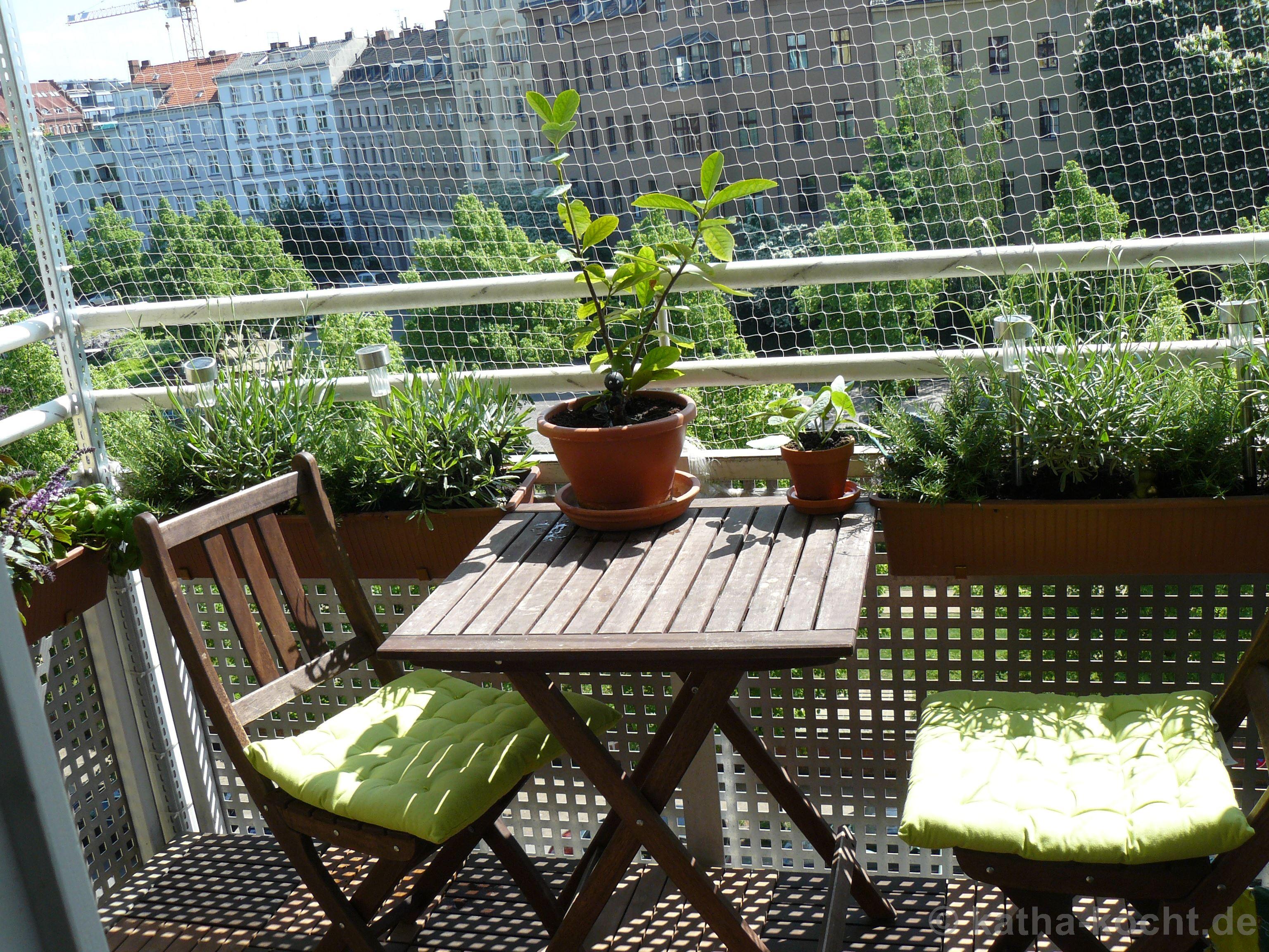 Kräutergarten auf Balkonien 2013 Katha kocht