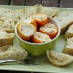 Tapas – Mini-Paprika mit pikanter Ziegenkäsecréme