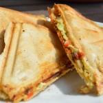 Avocado-Ziegenkäse Sandwich