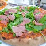 Pizza im Cafe am Engelbecken