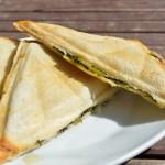 Feta-Spinat Sandwich