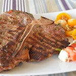 T-Bone Steak mit Chili und Rosmarin