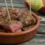 Tapas – scharfe Steak-Häppchen