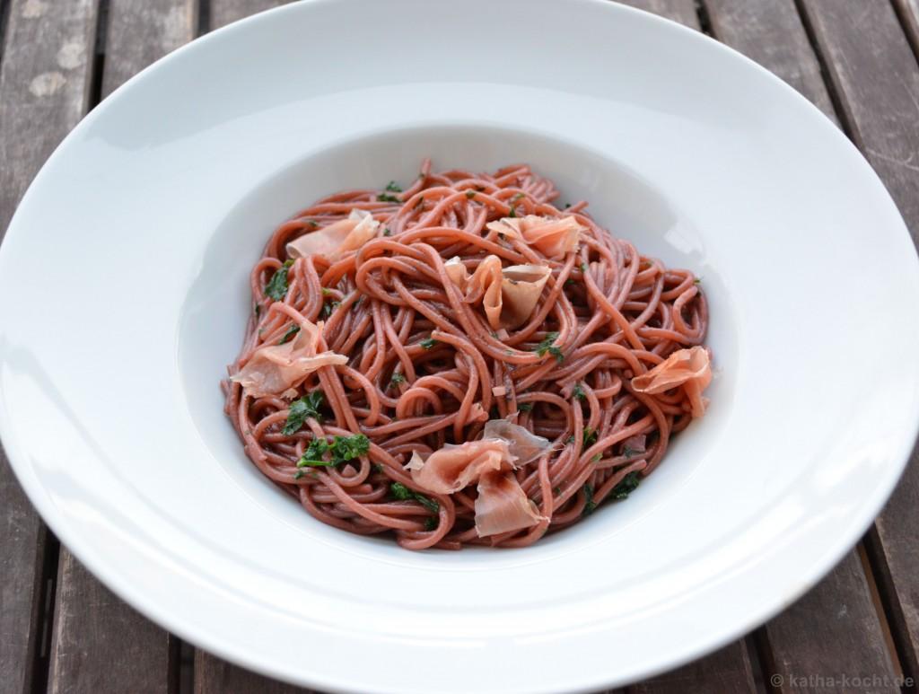 Säuferspaghetti_Parmaschinken_2