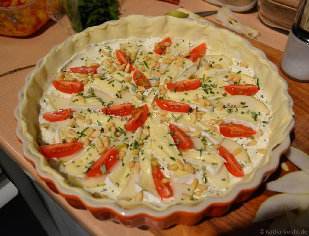 Birnen-Camembert-Tarte_Mit_Parmaschinken_3