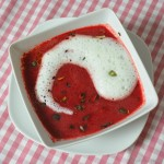Johann Lafer's Rote-Beete-Suppe mit Wasabischaum