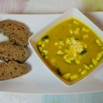 Kürbis-Zucchini Suppe