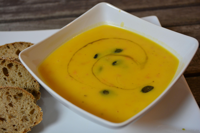 butternutk rbis suppe mit speck katha kocht. Black Bedroom Furniture Sets. Home Design Ideas