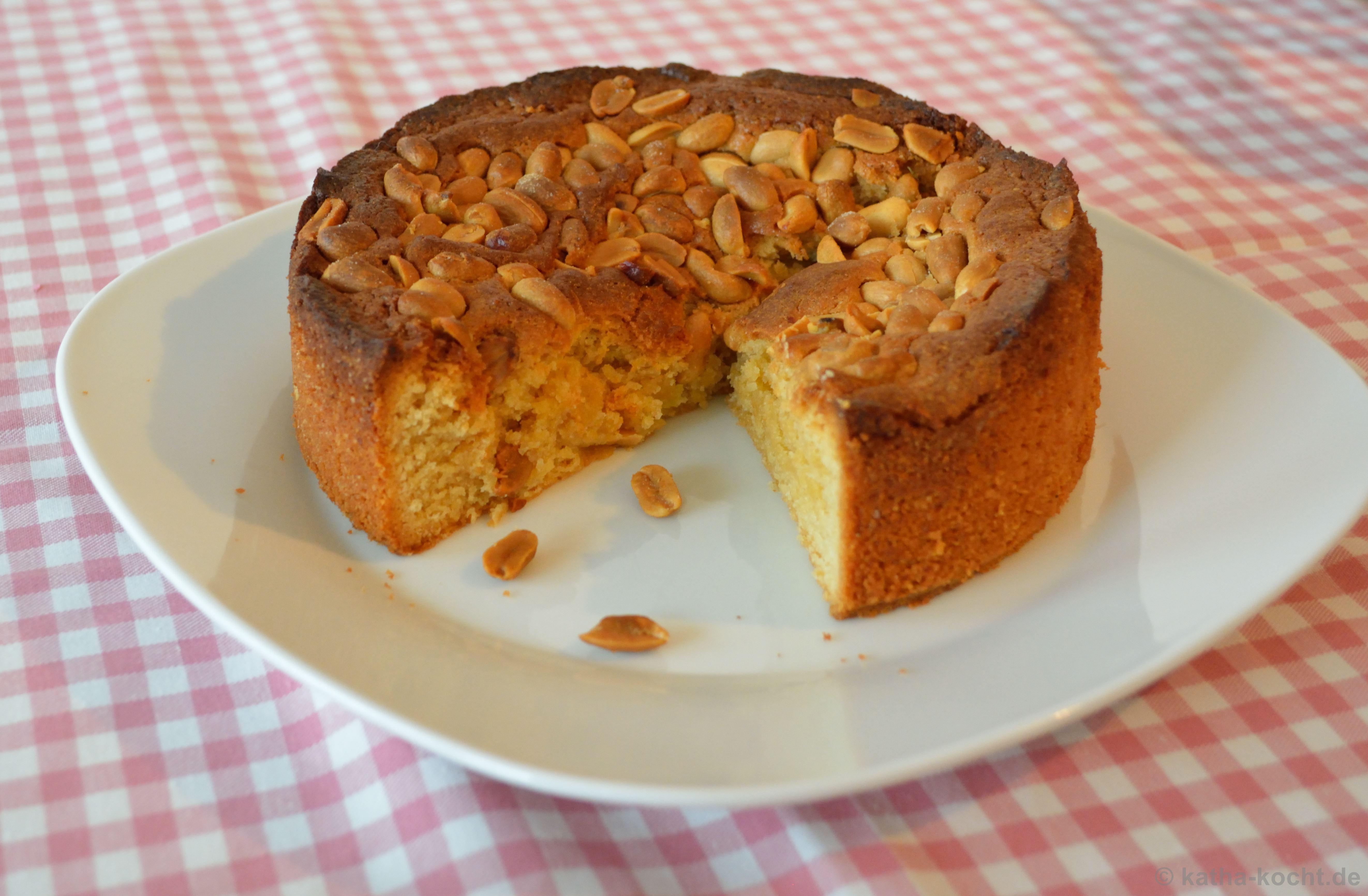 Erdnussbutter Kuchen Katha Kocht
