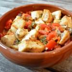Tapas – Schwertfisch mit Tomaten und Sherry