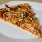 Zickige Pizza