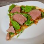 Pizza – Ente trifft Käse