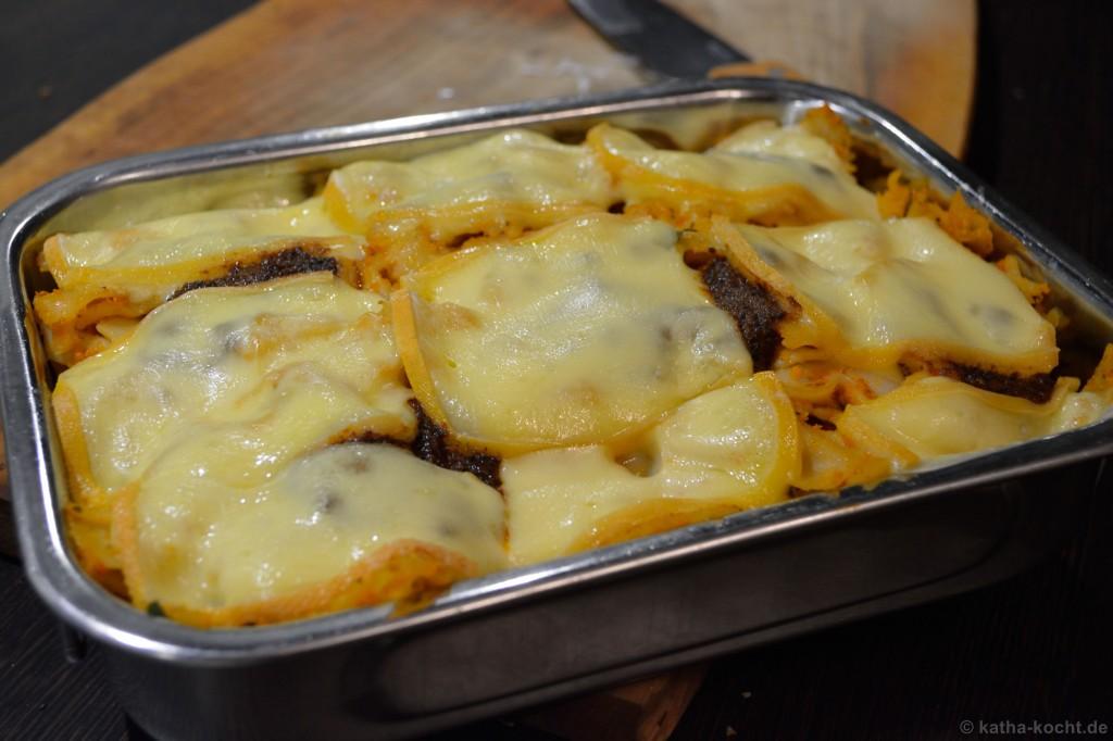Pesto-Farfalle_Auflauf_mit_Raclette_Käse_3