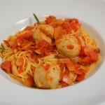 Spaghetti mit Kalbsbällchen