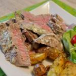 Steak mit Mayo-Kräuter Marinade