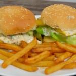 Teriaky-Mango Burger