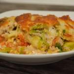 Hähnchen-Rosenkohl Lasagne
