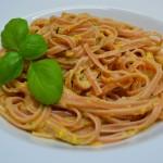 Linguine mit Mandel-Estragon Pesto