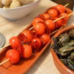 Tapas – Tomaten-Chorizo Spieße