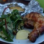 Soja Hähnchenkeulen vom Grill